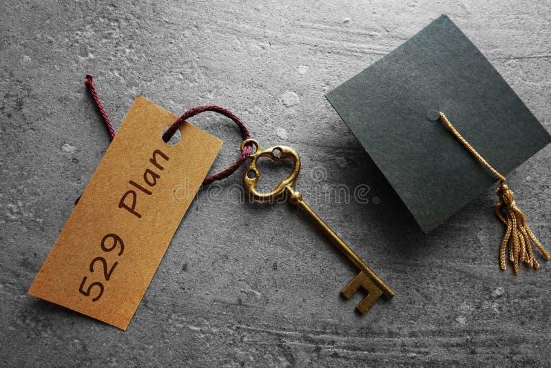 529学院储款计划 免版税库存图片