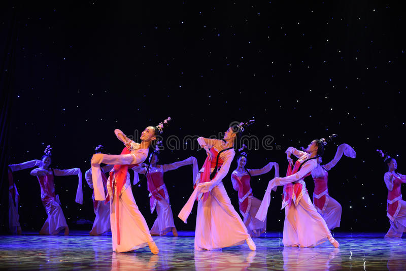 学院梁Shanbo的故事和朱映泰罗密欧和朱丽叶在中国 库存照片
