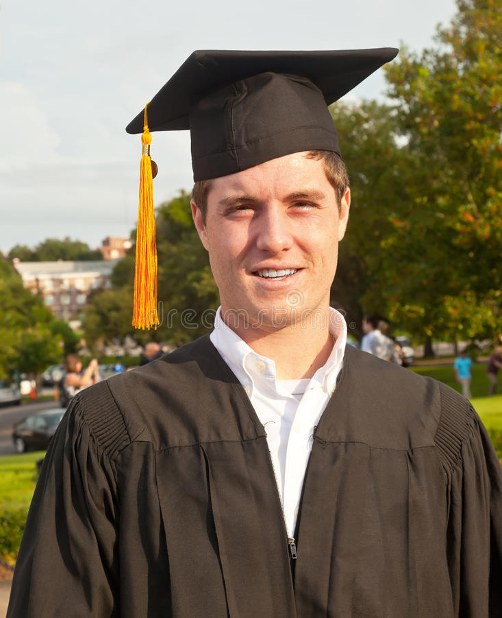 学院毕业生 免版税图库摄影