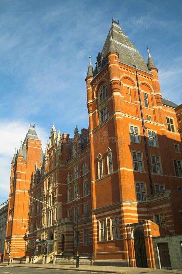 学院皇家伦敦的音乐 库存图片
