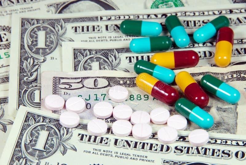 医学费用。 免版税库存图片