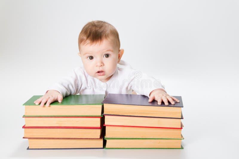 婴孩书 免版税库存照片