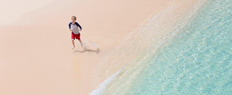 孩子在度假 库存照片