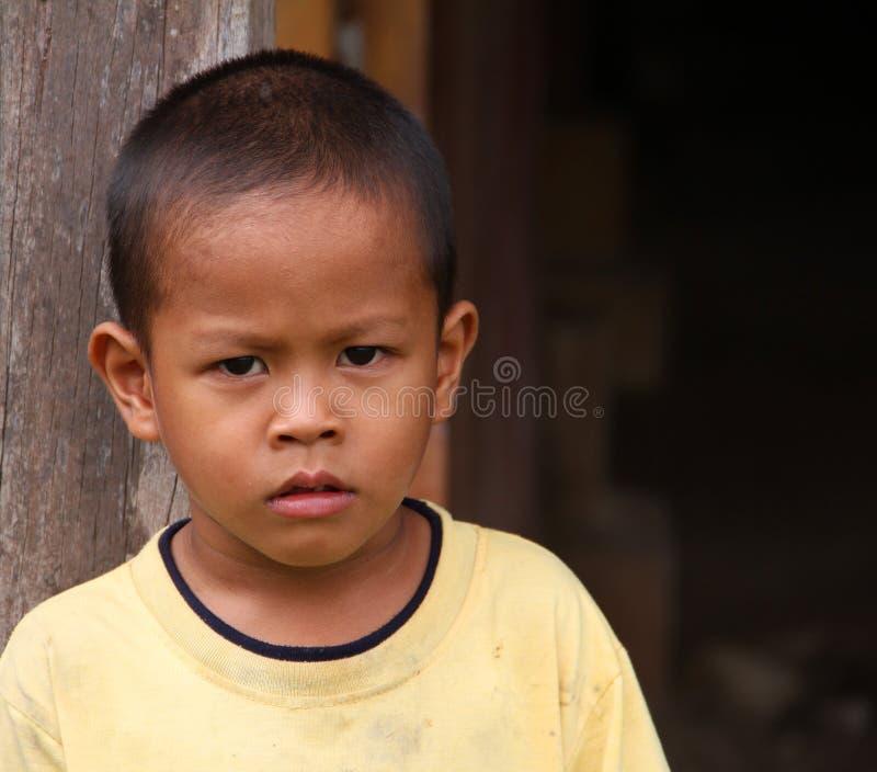 孩子在马来西亚 库存照片
