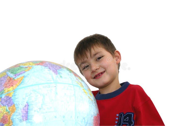 孩子学习 免版税库存图片