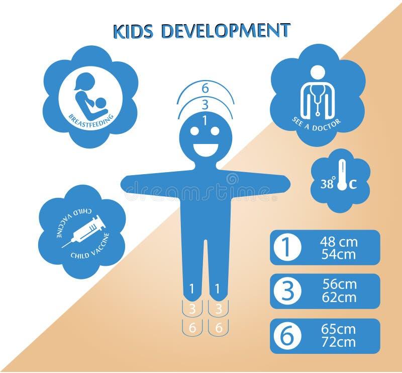孩子开发商 库存例证
