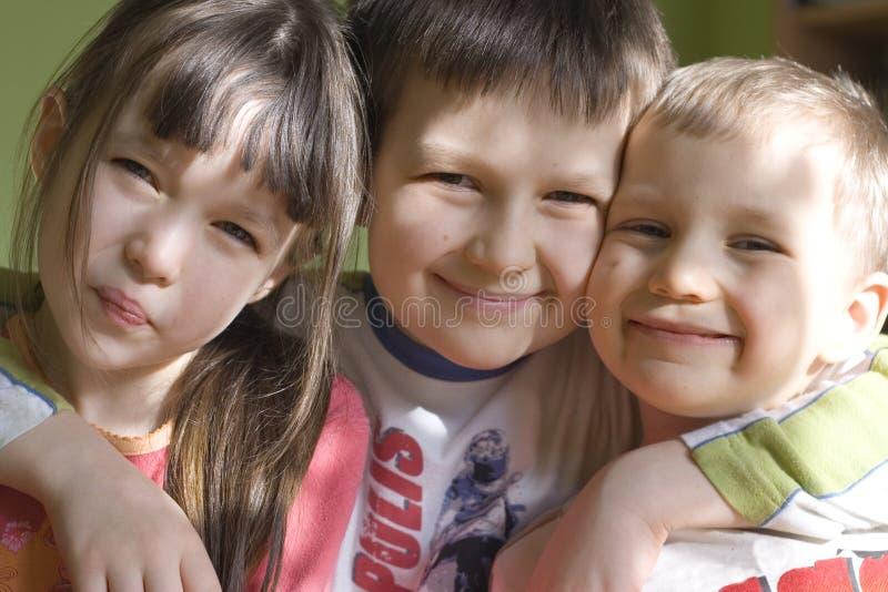 孩子微笑 库存照片