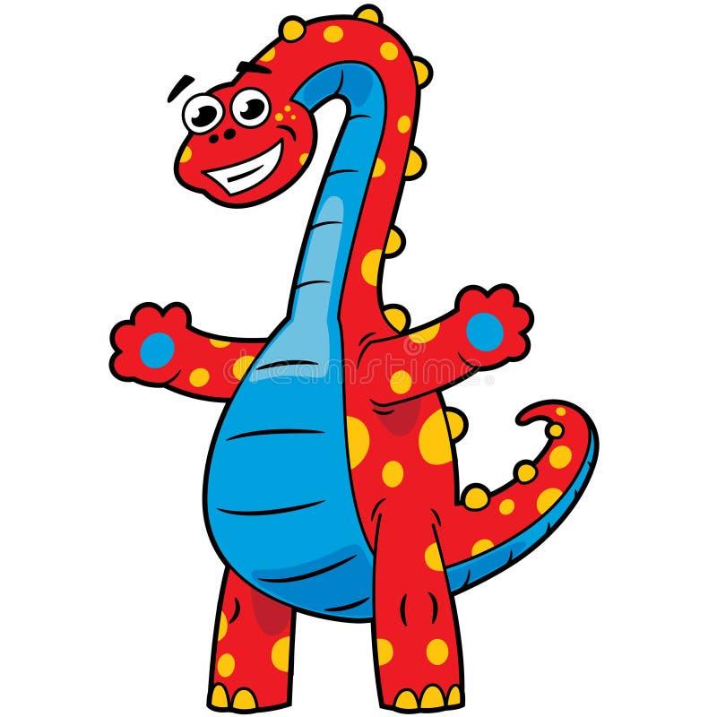 孩子恐龙 库存图片
