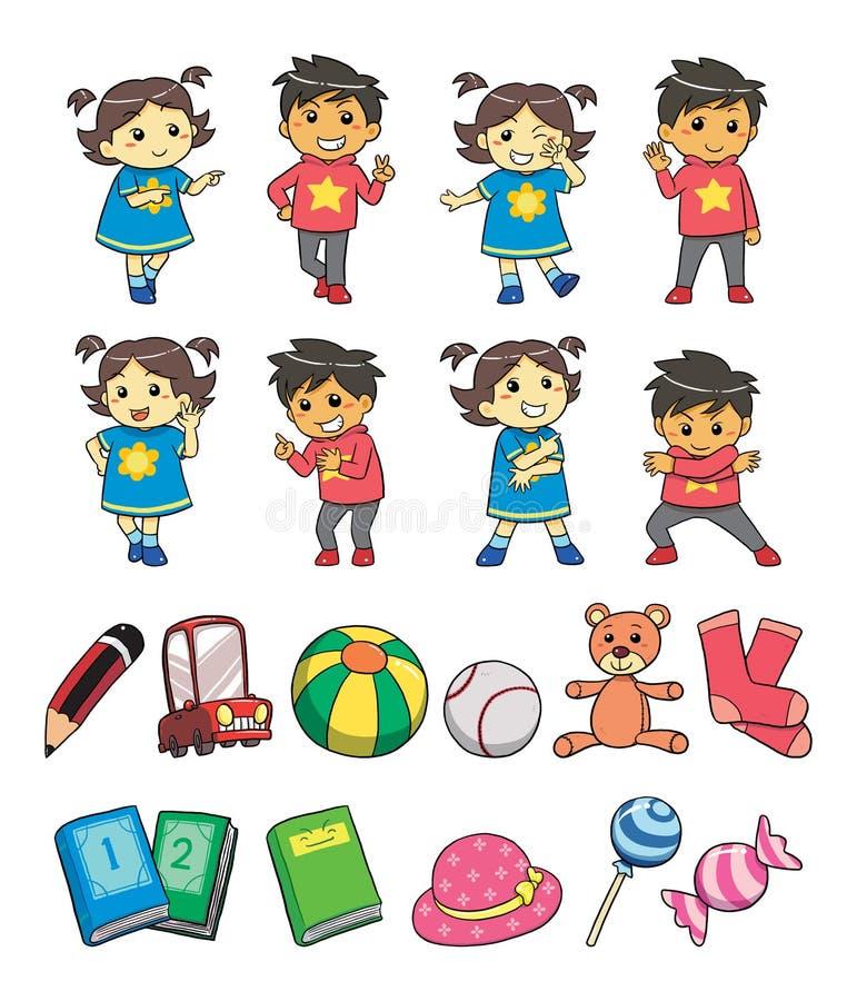 孩子样式 免版税库存图片