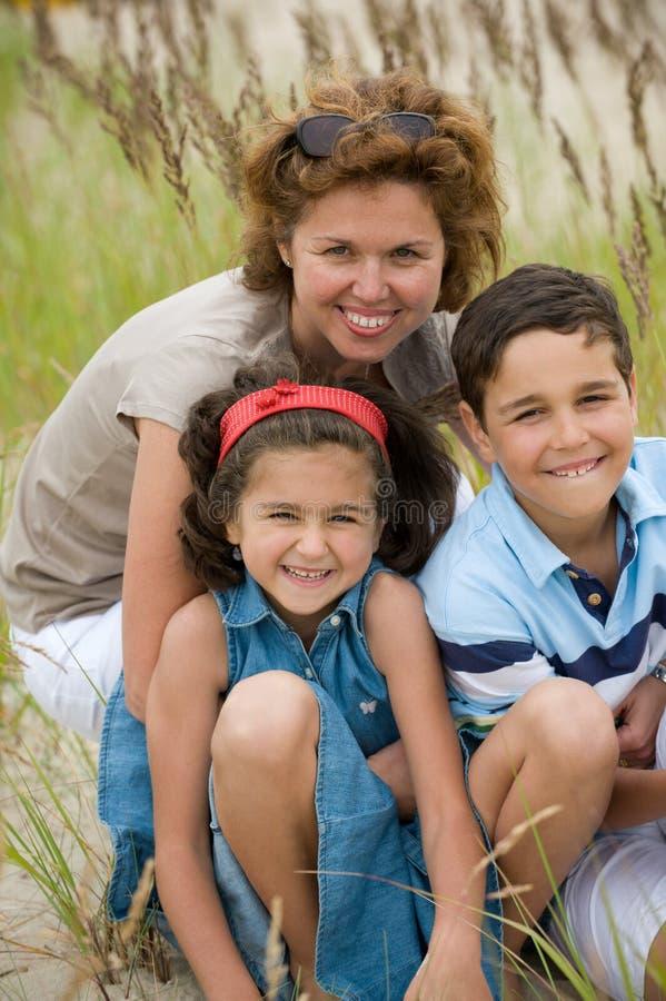 孩子母亲 免版税库存图片