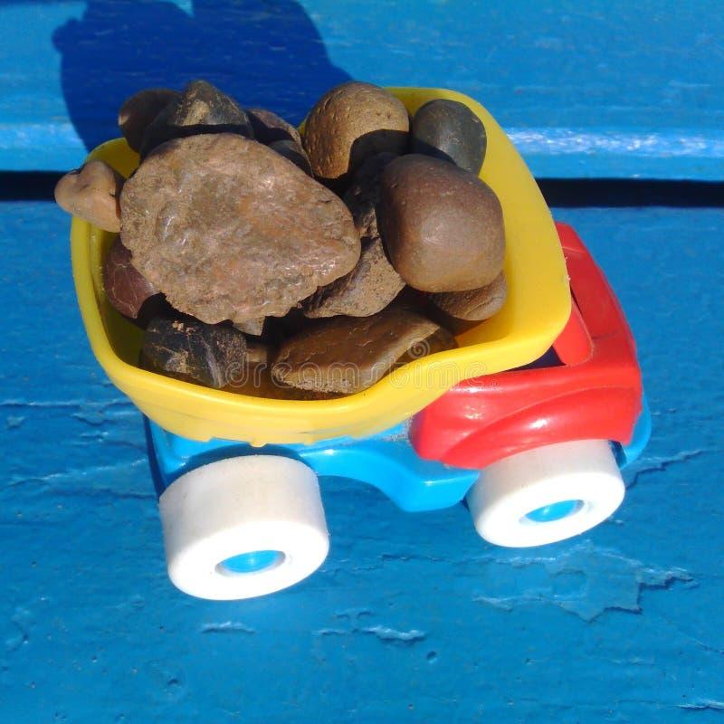 孩子玩具汽车 图库摄影