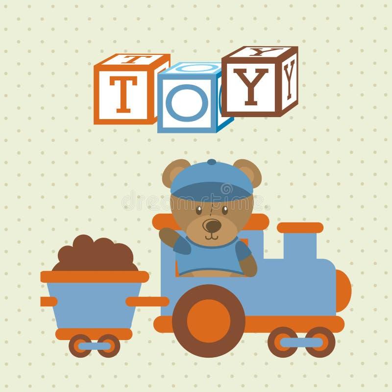 孩子玩具 向量例证