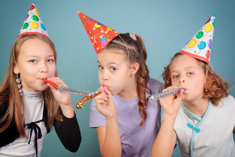 孩子生日聚会。 图库摄影