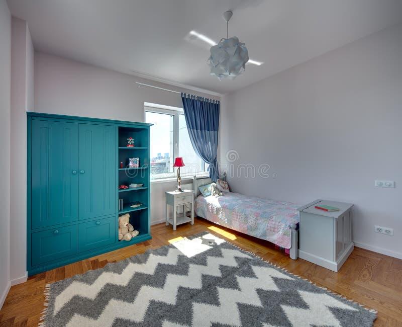 孩子的卧室 库存图片