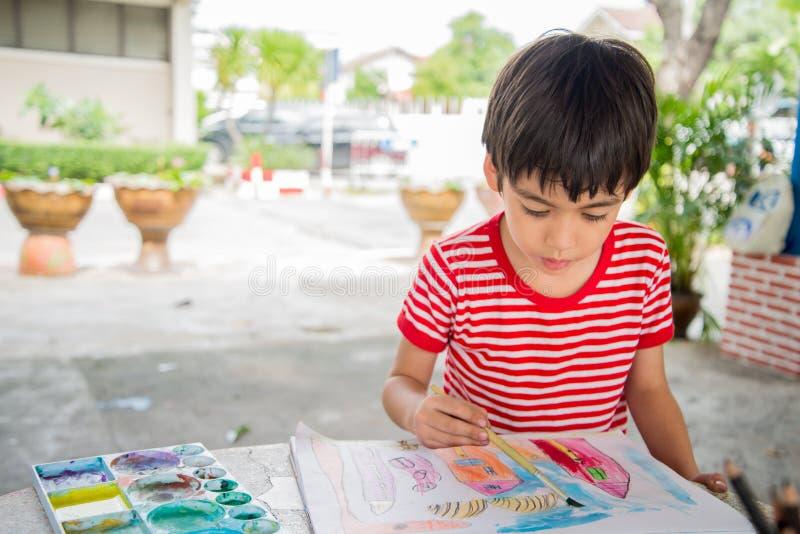 孩子的手图画图片 图库摄影