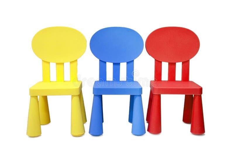 孩子的椅子 免版税库存照片
