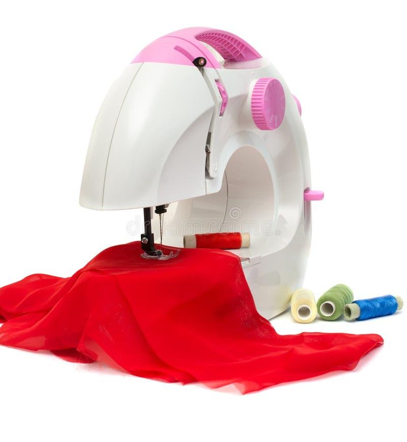 孩子缝纫机 库存照片