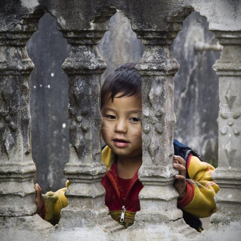孩子越南1 库存图片