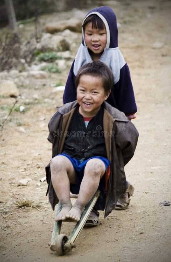 孩子越南 库存图片