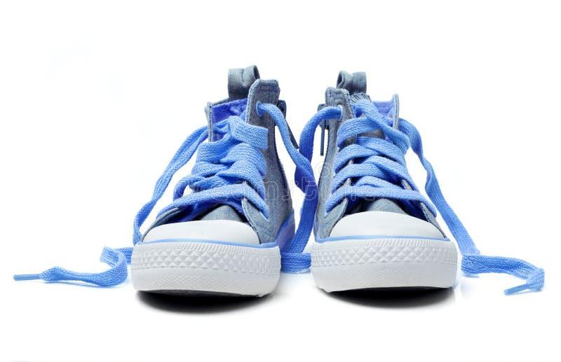 孩子鞋子 库存图片
