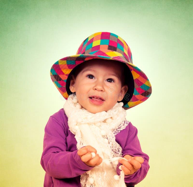 婴孩时尚 库存照片
