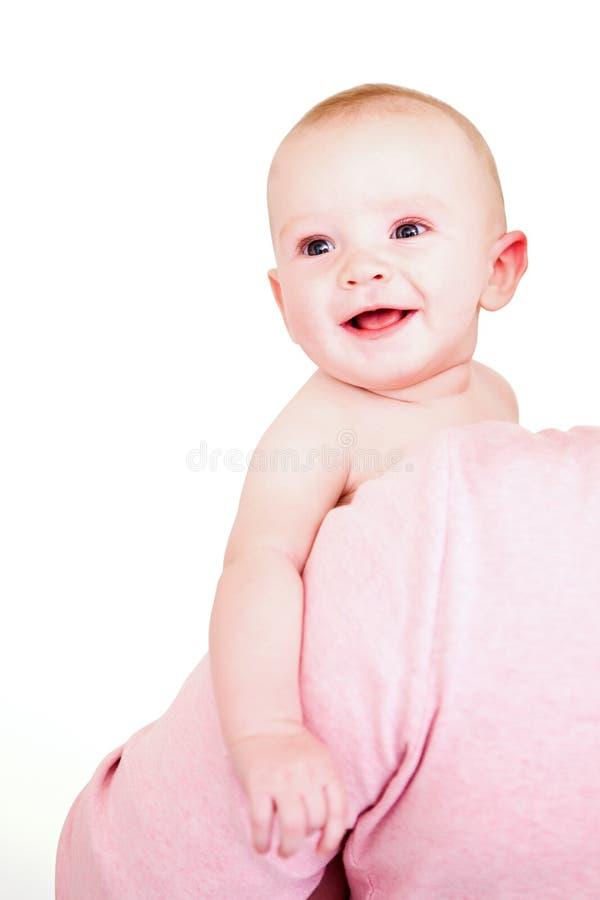 婴孩白色 免版税库存照片