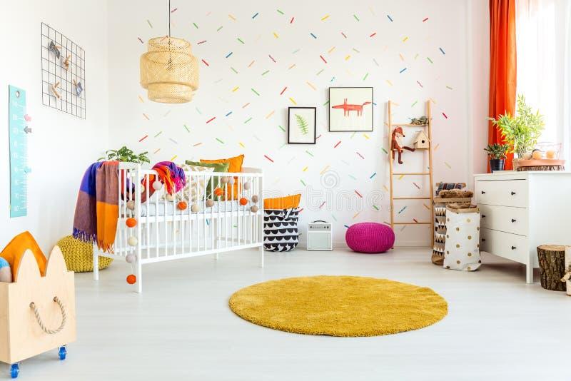 婴孩的室 免版税库存照片