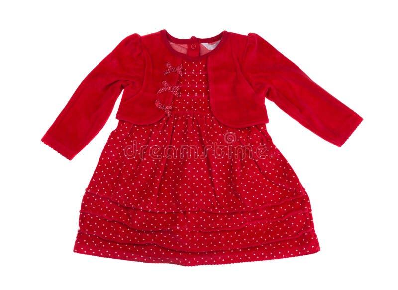 婴孩礼服,演播室,孤立 图库摄影
