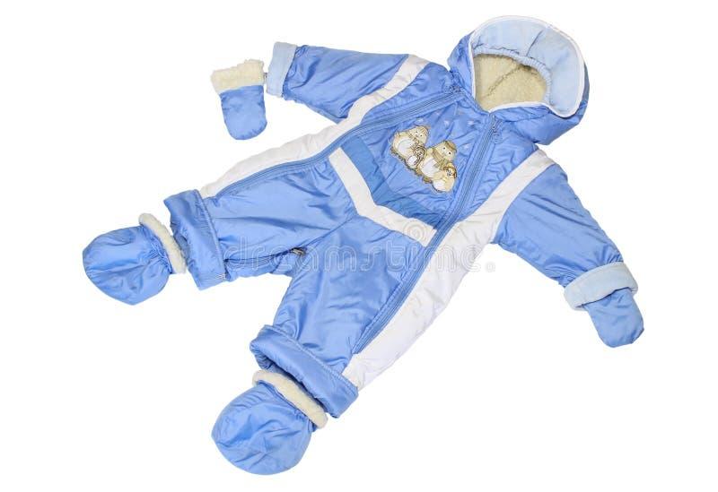 孩童用防雪装 免版税库存图片