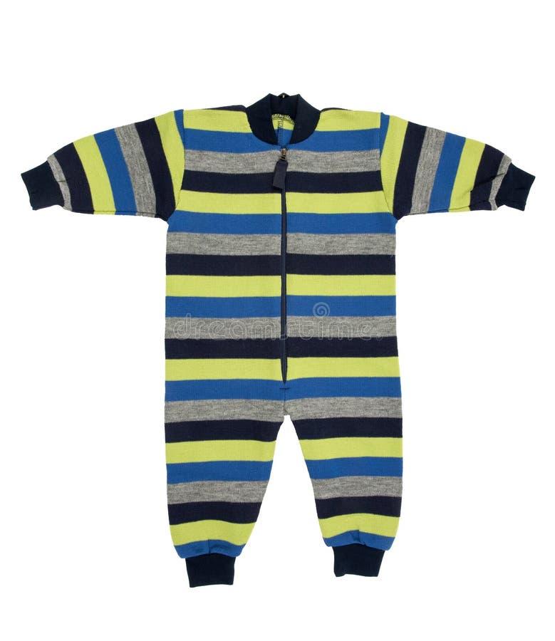 婴孩羊毛衣裳 免版税库存图片