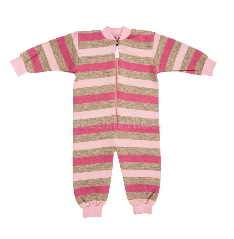婴孩羊毛衣裳 免版税图库摄影