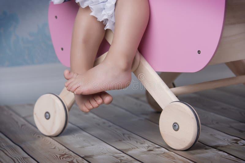 婴孩脚 库存照片
