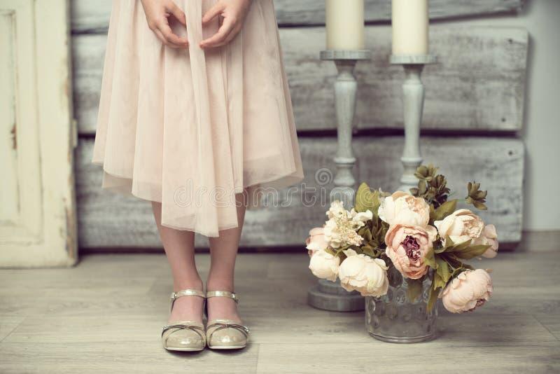 婴孩芭蕾 库存照片