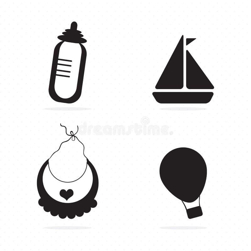 Download 婴孩象 向量例证. 插画 包括有 对象, 凹道, 逗人喜爱, 图标, 喜悦, 快乐, 少许, 人力, 童年 - 30331032
