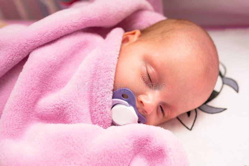 婴孩浴女孩 免版税库存图片