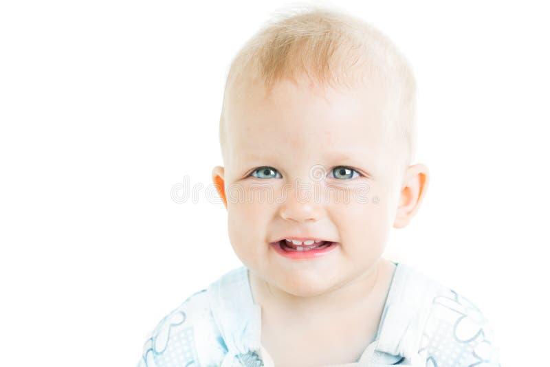 婴孩年岁一年 免版税库存照片