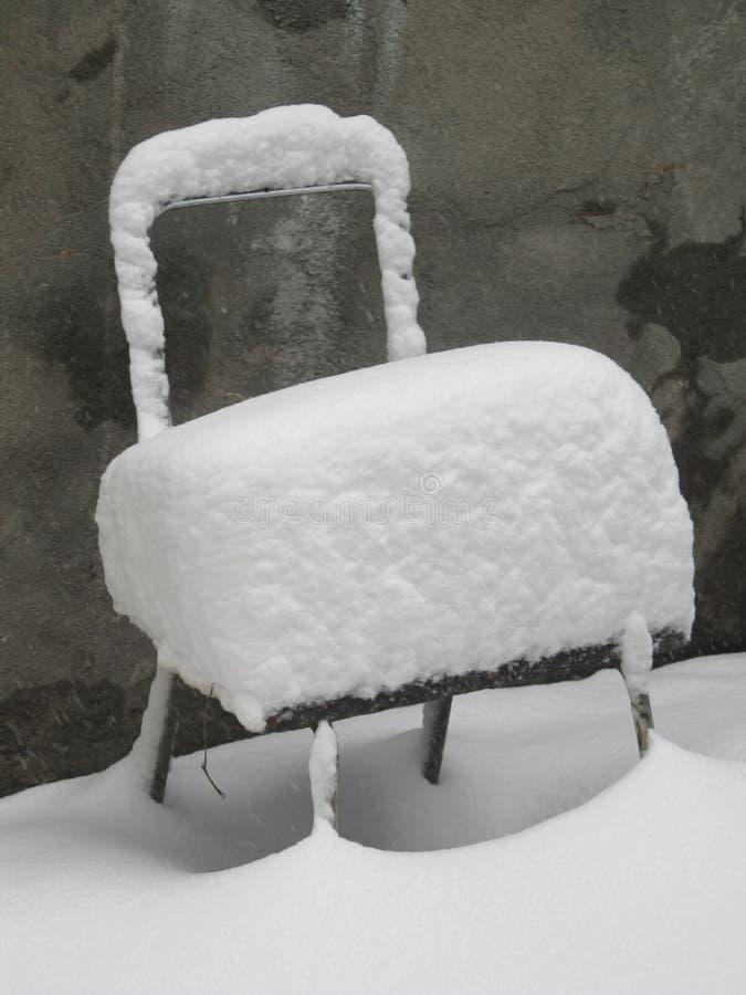 它是冬天 库存照片