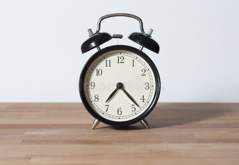它是7:23 o `时钟 库存图片