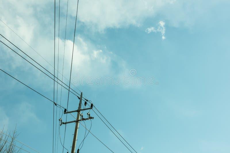 它韩国的` s天空 库存图片