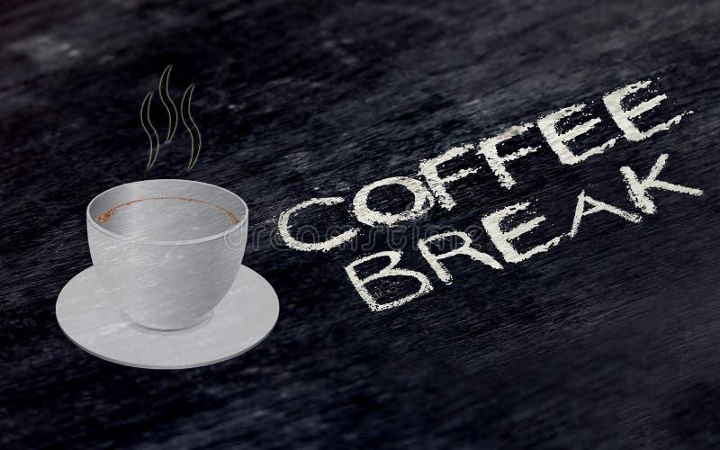 它` s咖啡休息-休息的概念 免版税库存图片