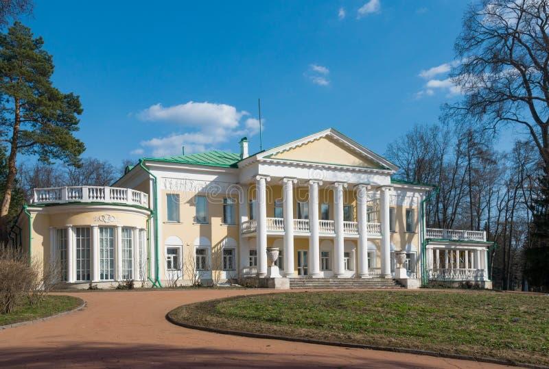 宅基高尔基,高尔基列宁博物馆储备,莫斯科地区,俄罗斯 免版税库存图片