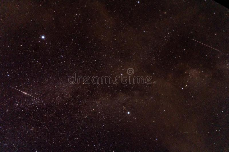 宇宙用星、星云和星系,背景用途填装了 库存图片