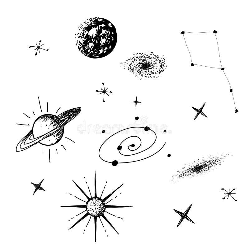 宇宙的传染媒介例证 皇族释放例证