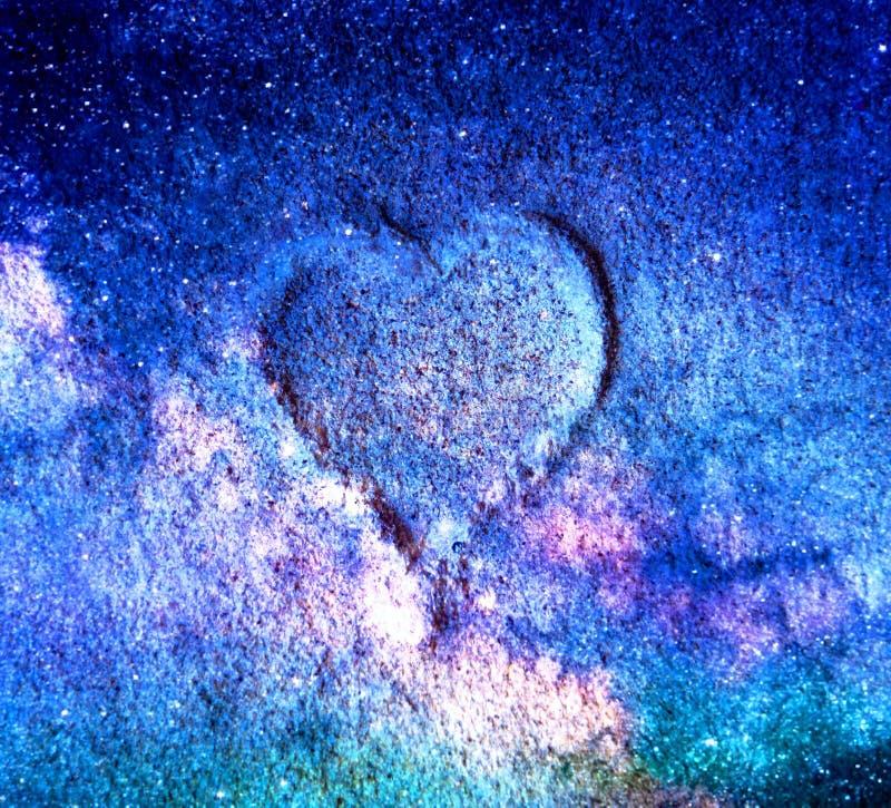 宇宙的心脏 免版税库存照片