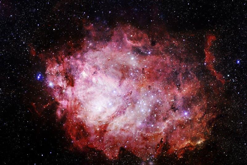 宇宙风景,令人敬畏的科幻墙纸 库存图片