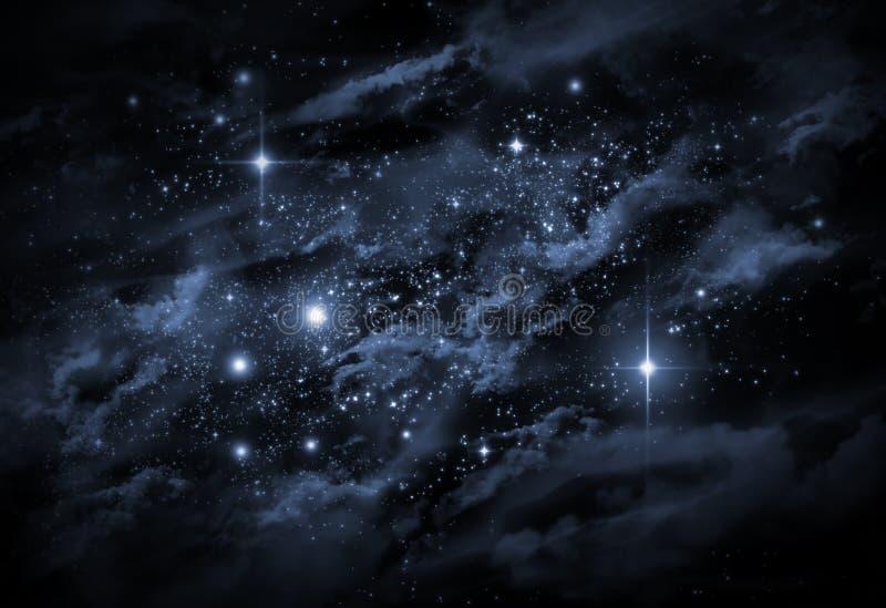 宇宙Starscape 向量例证