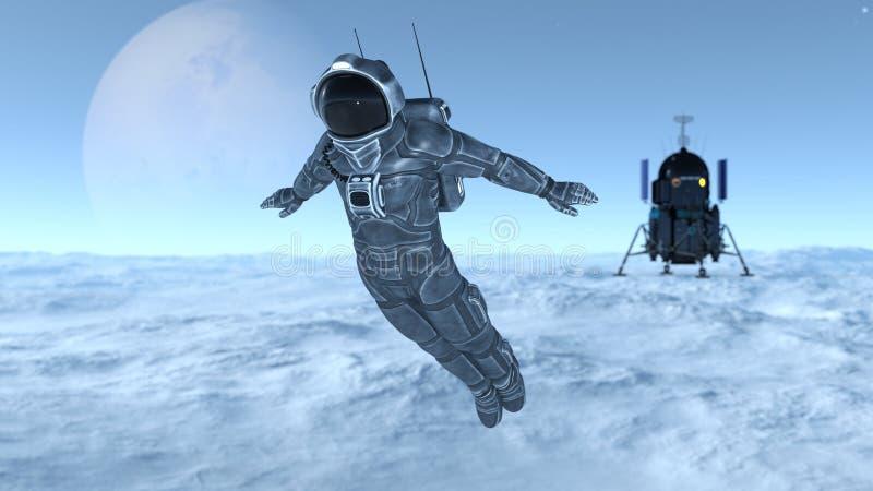 Download 宇航员 库存例证. 插画 包括有 重力, 星形, 工作, 向船外, 外面, 空间, 诉讼, 科学, 工作室 - 59106873