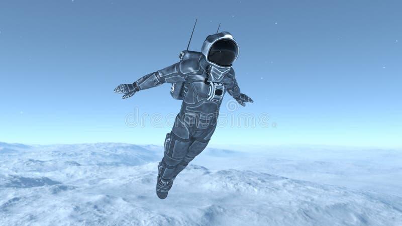 Download 宇航员 库存例证. 插画 包括有 行星, 重力, 外面, 星形, 向船外, 技术, 诉讼, 工作, 空间 - 59106882