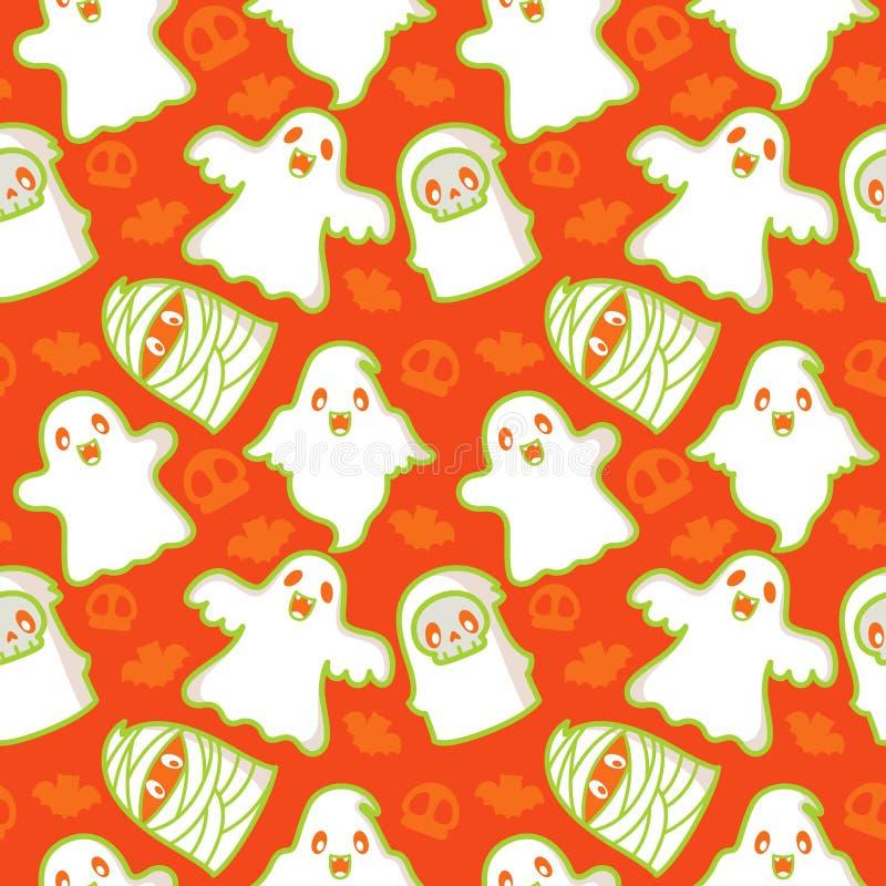 守护程序鬼魂模式 库存例证