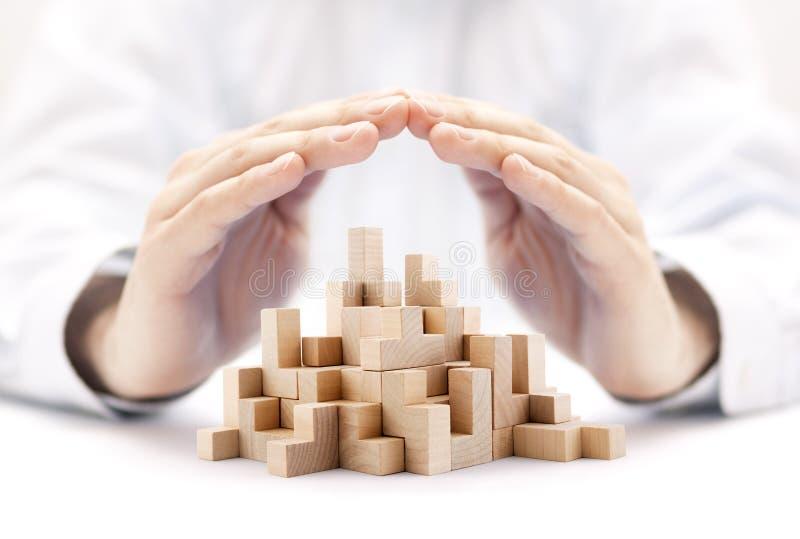 安全业务发展概念 免版税库存图片